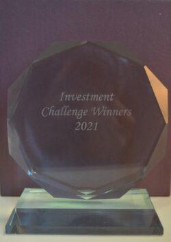 Investment challenge trophy